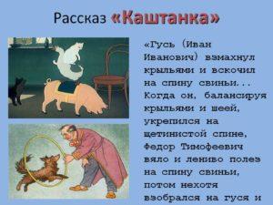Урок-исследование Образ Каштанки в рассказе А.П.Чехова Каштанка