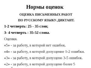 Диктант за 1 четверть 2 класс ПНШ