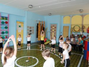 Конспект НОД по физической культуре в средней группе Учимся дружить