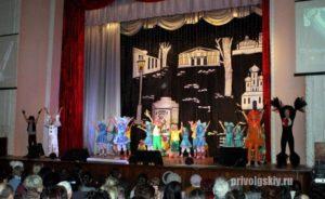 Сценарная разработка для открытия театрального отчетного концерта