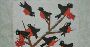 Конспект по аппликации Перелетные и зимующие птицы