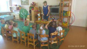 Интегрированное занятие по развитию речи в средней группе В гости к сказке