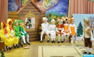 Сценарий сказки Теремок на новый лад для детей средней группы