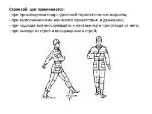 План конспект занятия: Строевые приёмы и движение с оружием Занятие №2