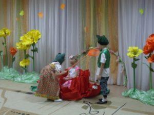 Сценарий спектакля в стихах на новый лад Дюймовочка
