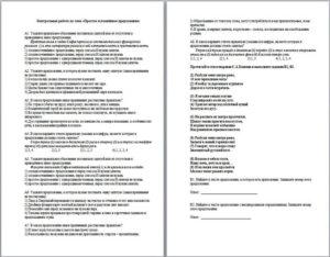 Тестовая контрольная работа по теме Синтаксис. Словосочетание. Простое предложение