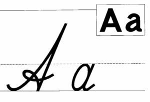 Образцы написания букв алфавита 1 класс
