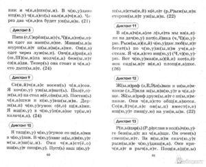 Проверочный диктант с дескрипторами для 2 класса ПНШ
