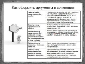 АРГУМЕНТЫ ДЛЯ НАПИСАНИЯ СОЧИНЕНИЯ-РАССУЖДЕНИЯ 15.3