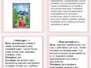 Картотека дидактических игр по патриотическому воспитанию