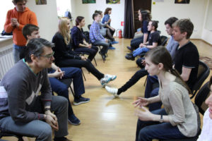 Мастер- класс по общекультурному направлению Тема: Основы актёрского мастерства.