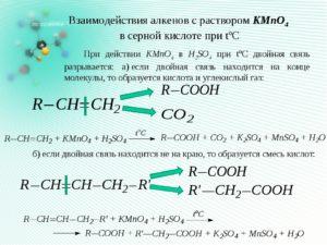 Урок по химии для 10 класса Химические свойства алкенов