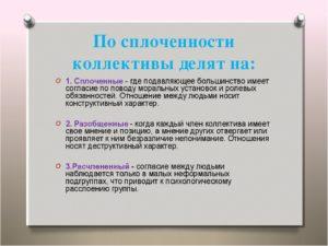 Тест Уровень сплоченности коллектива
