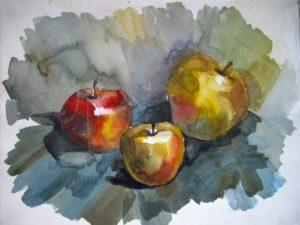 План конспект урока по живописи Рисование в технике аля-прима
