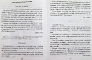 Входная контрольная работа по русскому языку в 3 классе в соответствии с ФГОС НОО. Диктанты с грамматическим заданием.