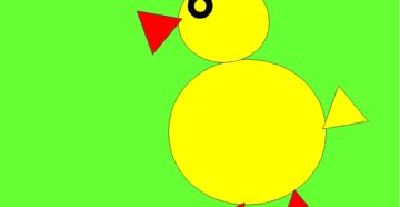 Аппликации из геометрических фигур 1 класс