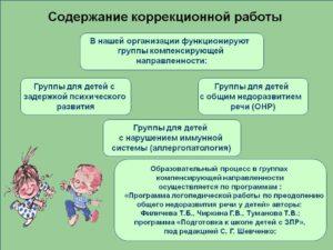 Планирование, содержание и условия реализации коррекционных программ для детей с ЗПР