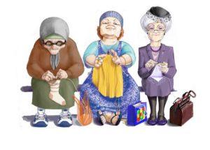 Сценки: Три мамы и На скамейке